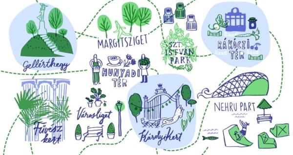 Közösségi finanszírozással készül a főváros offline zöld térképe – te is beszállhatsz!