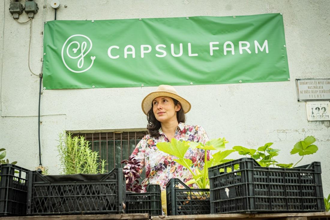 Capsul Farm x Urban Jungle Budapest együttműködés